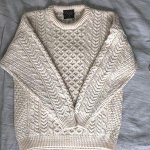 Irish Cable Knit Fisherman's Sweater